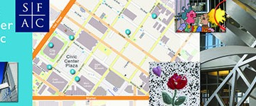 CCSF GISEC Mapping Contest Bookmark