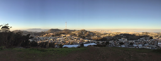 Evening view from Mt. Davidson